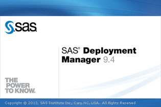 SAS Deployment Manager